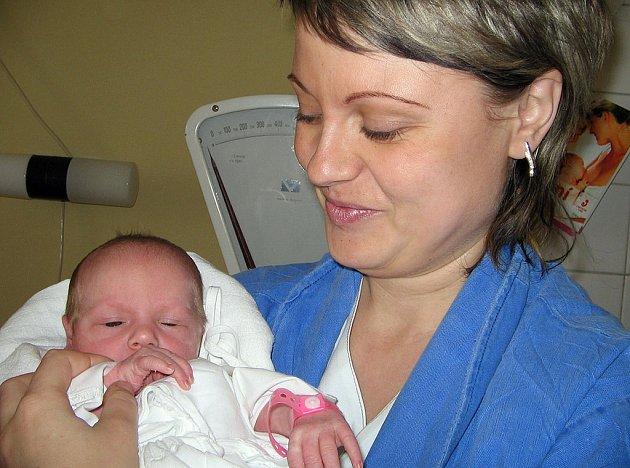 Malá Eliška Kostková je první dítě paní Martiny Kostkové z Petrovic. Když přišla Eliška 11. ledna na svět, vážila 2760 g a měřila 47 cm.