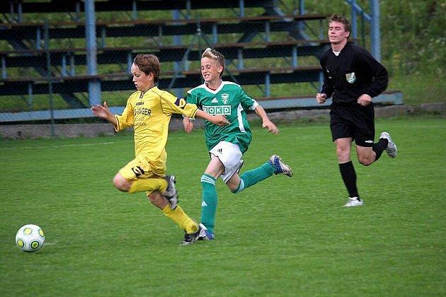 Mládežnické fotbalové soutěže pokračovaly i o víkendu.