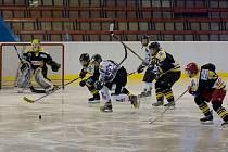 Karvinské hokejistky (v bílém) porazily Litvínov.