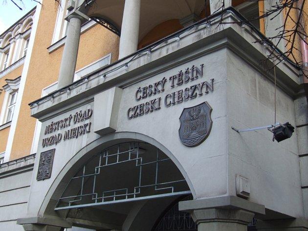 Radnice v Českém Těšíně.
