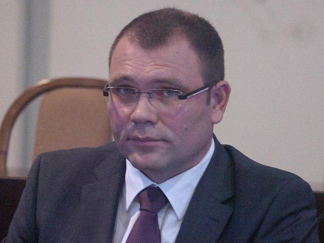 Primátor Karviné Tomáš Hanzel (ČSSD)