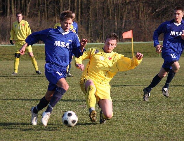 Orlovští fotbalisté dál okupují přední pozice v divizní tabulce.