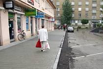 Široká ulice v centru Havířova