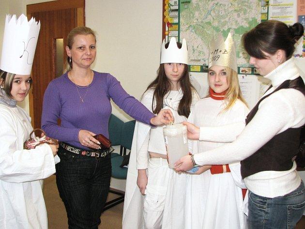 Na charitu přispěla také Libuše Bauerová.