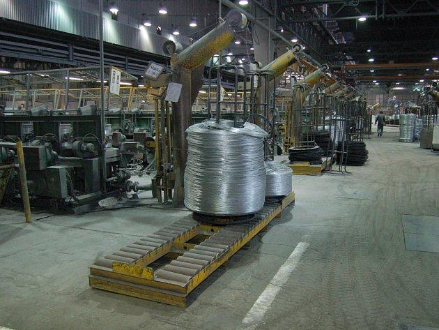 Železárny a drátovny Bohumín. Foto z výroby