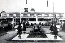 Pohled na výstaviště v roce 1926.