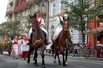 Ve Starém Bohumíně nachystali na sobotu dožínky, místní tak oživují starou tradici.
