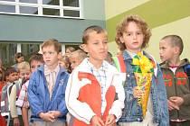 Záhajení školního roku je v Albrechticích významnou obecní událostí
