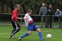 Albrechtice hrály poprvé na jaře doma a hned vyhrály.