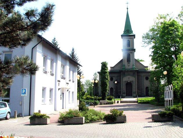 Centrum Horní Suché