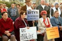 Demonstrace důchodců