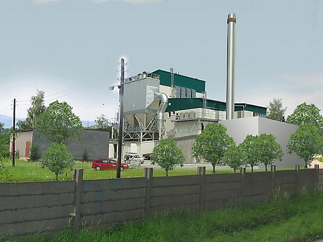 Takto by měla podle studie vypadat bioelektrárna v Českém Těšíně.