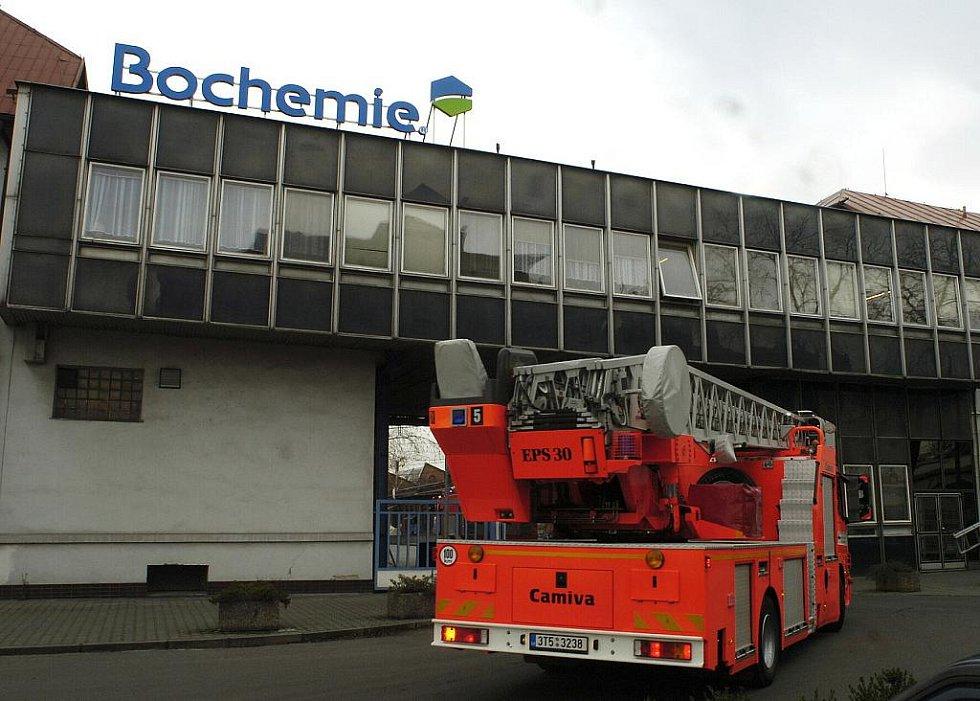 V Bohumíně hasiči cvičili zásah při fiktivním úniku chlóru