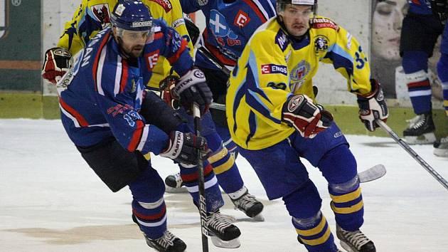 Orlovští hokejisté v Přerově prohráli 1:4, takže se série stěhuje v pátek znovu do Orlové.