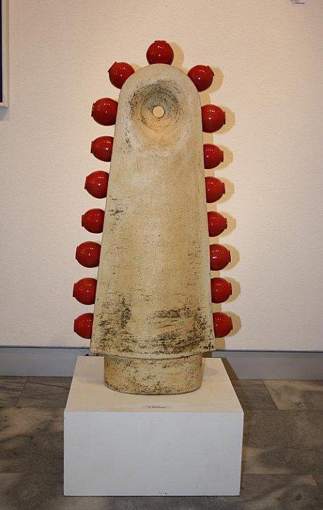 Výstava keramičky Jarky Rybové a malířky Jindřišky Růžičkové