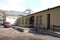Českotěšínská Střelnice krátce před dokončením rekonstrukce