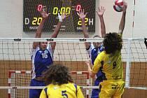 Volejbalisté Havířova prohráli v Benátkách.