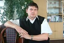 Starosta Horní Suché Jan Lipner.