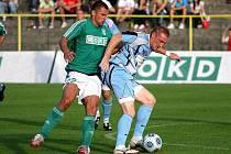Karvinští fotbalisté nezvládli zápas ve Vlašimi.