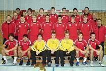 Český národní tým starších dorostenců - účastník ME 2011 v Černé Hoře.