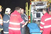 Nehoda v Horní Suché