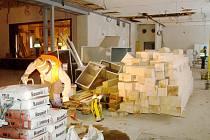 Stavební práce ve Střelnici