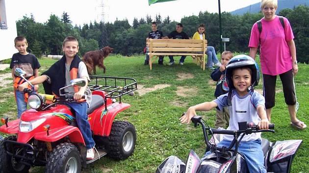 Pro děti v domově je pořádáno mnoho výletů a různých aktivit.
