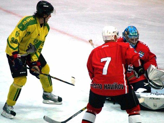 Hokejisté Havířova prohráli v odvetě se slovenskou Žilinou.