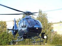 Policejní vrtulník. Ilustrační foto