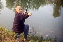 V areálu Lodiček v karvinském parku Boženy Němcové se sešli malí rybáři.
