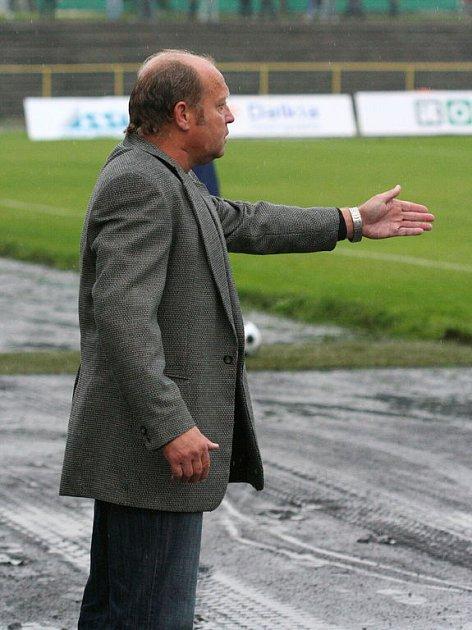 Trenér MFK Karviná Leoš Kalvoda byl po utkání s Vítkovicemi opět spokojen.