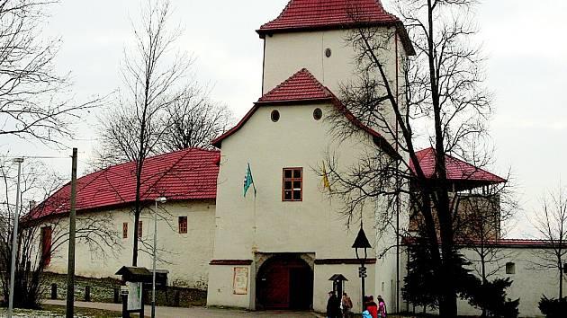 Slezskoostravský hrad. Je skvělým místem pro načerpání dobré nálady.