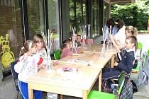 Pracovníci městské knihovny připravují pro děti zajímavý program.