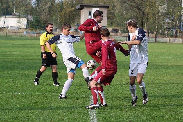 Horní Suchá (v bílém) doma v důležitém utkání vyhrála.
