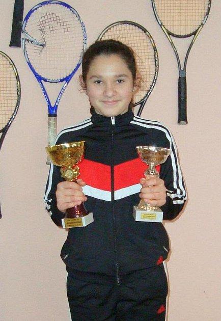 Nicole Hořavková vyhrála domácí turnaj.