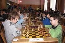Šachové přebory dětí v Havířově.