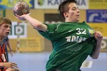 Jiří Užek byl nejlepším střelcem týmu mladších dorostenců při vítězství v Brně.
