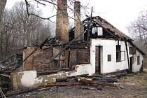 Požár rodinného domu v Horních Bludovicích