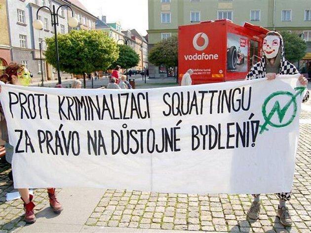 Squateři v Českém Těšíne pokračují ve festivalu