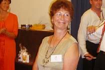 Finalistka soutěže Eurobabička 2008 Jana Tvrdá.