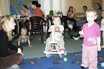 Děti v Majáčku mají o zábavu postaráno.