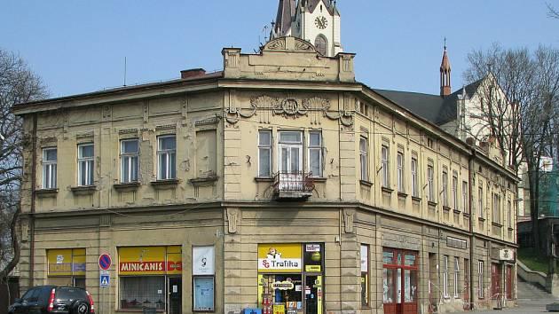 Secesní dům na náměstí ve staré části Orlové