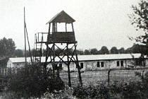 Zajatecký tábor z doby II. světové války v Českém Těšíně.