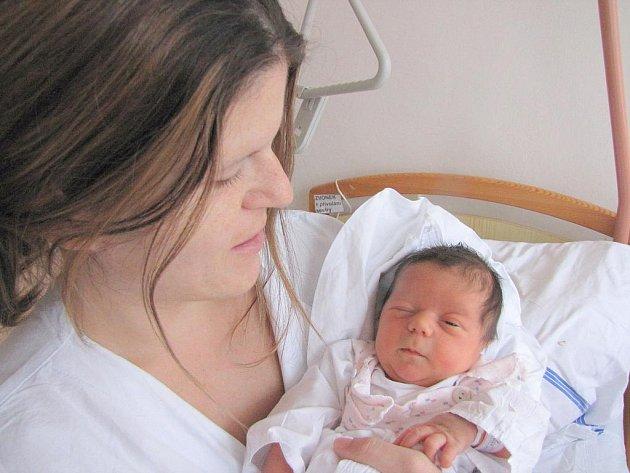 Natálie Sarah Urbancová, 19. října 2011, Havířov, váha: 3,32 kg, míra: 49 cm
