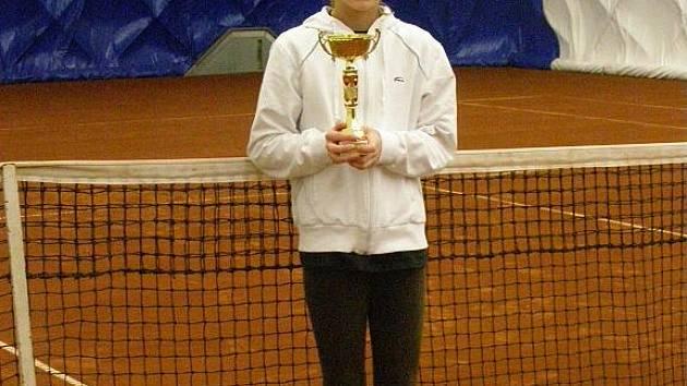 Havířovská hráčka Karolína Kosová je nadějí okresního tenisu.
