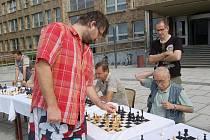 Pokračovaly soutěže v šachu.