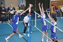 Volejbalisté Havířova nestačili podle očekávání na českobudějovického mistra.