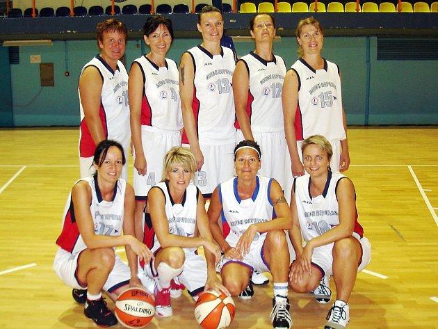Basketbalové veteránky Havířova tentokrát na medaili nedosáhly.