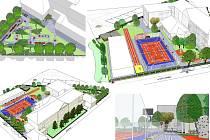 Návrh podoby školního hřiště