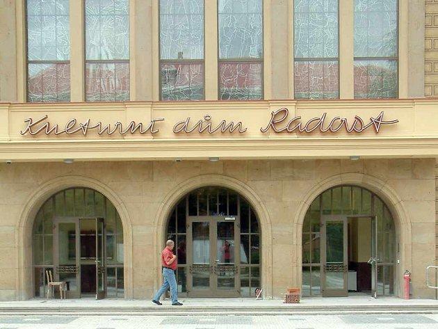 Kulturní dům Radost bude slavnostně otevřen na začátku října a hned se v jeho útrobách uskuteční několik akcí.